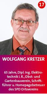 2020- Wolfgang Kretzer