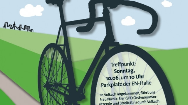 Fahrradtour nach Volkach
